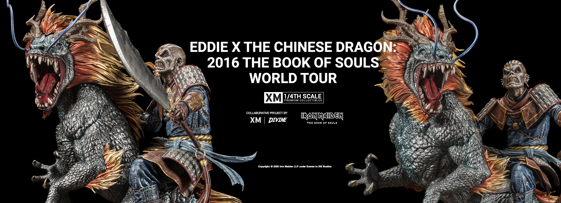Eddie X The Chinese Dragon 2016 The Book Of Souls World Tour